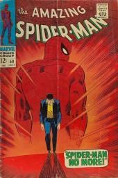 Amazing Spider-Man (The) Vol.1 (Marvel comics - 1963) -50- Spider-Man No More!