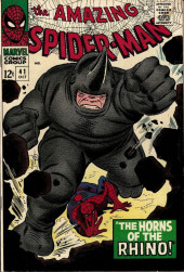 Amazing Spider-Man (The) (1963) -41- The Horns of the Rhino!