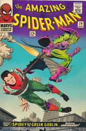 Amazing Spider-Man (The) (1963) -39- Spidey and the Green Goblin...Both Unmasked!