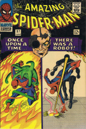 Amazing Spider-Man (The) (1963) -37- Once Upon a Time... ...There Was a Robot!
