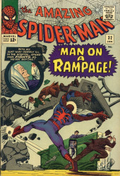 Amazing Spider-Man (The) (1963) -32- Man on a Rampage!