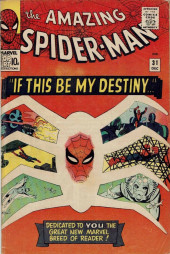Amazing Spider-Man (The) (1963) -31- If This Be My Destiny...