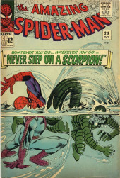 Amazing Spider-Man (The) (1963) -29- Never Step on a Scorpion!