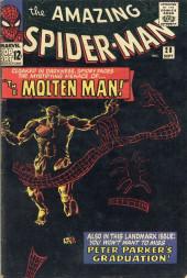 Amazing Spider-Man (The) Vol.1 (Marvel comics - 1963) -28- The Molten Man!