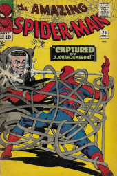 Amazing Spider-Man (The) (1963) -25- Captured by J. Jonah Jameson!