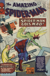 Amazing Spider-Man (The) (1963) -24- Spider-Man Goes Mad!