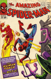 Amazing Spider-Man (The) (1963) -21- Where Flies the Beetle...!