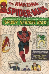Amazing Spider-Man (The) Vol.1 (Marvel comics - 1963) -19- Spidey Strikes Back!