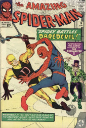 Amazing Spider-Man (The) Vol.1 (Marvel comics - 1963) -16- Spidey Battles Daredevil!