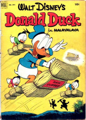 Four Color Comics (Dell - 1942) -394- Donald Duck in Malayalaya