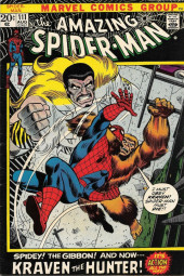 Amazing Spider-Man (The) (1963) -111- Spidey! The Gibbon! And Now-- Kraven the Hunter!