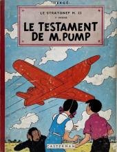 Jo, Zette et Jocko (Les Aventures de) -1B20b- Le testament de M. Pump