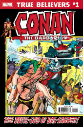 True Believers: Conan (2019) - True Believers: Conan - The devil-god of Bal-Sagoth !