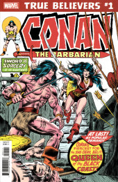 True Believers: Conan (2019) - True Believers: Conan -Queen of the black coast !