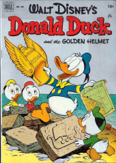 Four Color Comics (Dell - 1942) -408- Donald Duck and the Golden Helmet