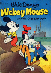 Four Color Comics (Dell - 1942) -411- Mickey Mouse and the Old Sea Dog
