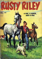 Four Color Comics (Dell - 1942) -418- Rusty Riley, a Boy, a Horse, and a Dog