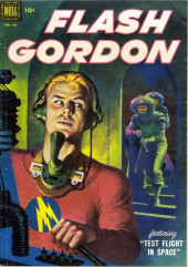 Four Color Comics (Dell - 1942) -424- Flash Gordon: Test Flight in Space