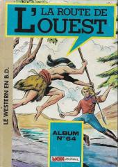 La route de l'Ouest -Rec64- Album N°64 (du n°154 au n°156)
