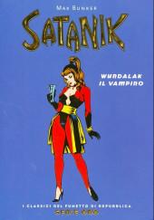Classici del Fumetto di Repubblica (I) - Serie Oro -38- Satanik