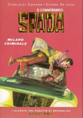Classici del Fumetto di Repubblica (I) - Serie Oro -40- Il commissario spada