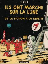 Tintin - Divers -Cat- Ils ont marché sur la Lune, de la fiction à la réalité