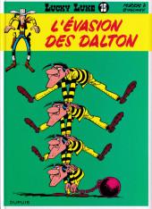 Lucky Luke -15d2016- L'évasion des Dalton