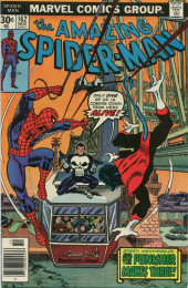 Amazing Spider-Man (The) Vol.1 (Marvel comics - 1963) -162- Spidey... Nightcrawler... and the Punisher Makes Three!