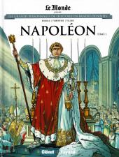 Les grands Personnages de l'Histoire en bandes dessinées -9- Napoléon - Tome 1