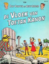 Piet Pienter en Bert Bibber -17a85- De vloek van Toetan Kanon