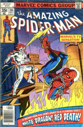Amazing Spider-Man (The) (1963) -184- White Dragon! Red Death!