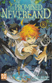 Promised Neverland (The) -8- Jeux interdits