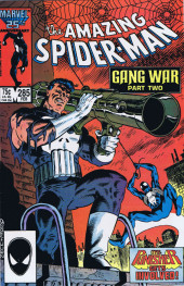 Amazing Spider-Man (The) (1963) -285- Gang War Part Two The Punisher Gets Involved!