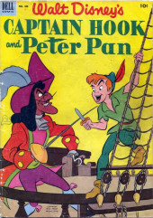 Four Color Comics (Dell - 1942) -446- Peter Pan and Captain Hook