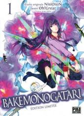 Bakemonogatari -1TL- Volume 1 - Edition limitée