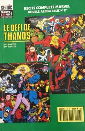 Récit complet Marvel (Un) -Rec17- Double Album Relié N°17