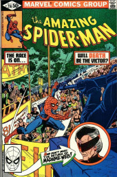 Amazing Spider-Man (The) (1963) -216- The Race Is On... Will Death Be the Victor?