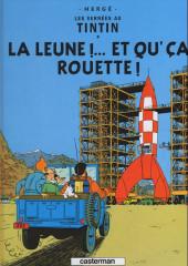 Tintin (en langues régionales) -16Sarthois- La leune !... et qu'ça rouette !
