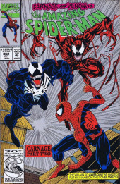 The amazing Spider-Man Vol.1 (Marvel comics - 1963) -362VC- Carnage Part Two
