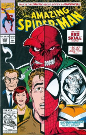 Amazing Spider-Man (The) (1963) -366- What is the Truth About Spidey's Parents?! Only the Red Skull Knows -- But He'd Rather Kill Than Tell!