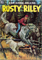 Four Color Comics (Dell - 1942) -451- Rusty Riley, a Boy, a Horse, and a Dog