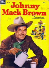 Four Color Comics (Dell - 1942) -455- Johnny Mack Brown Comics