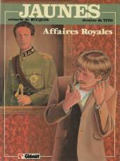 Jaunes -5a1988- Affaires Royales