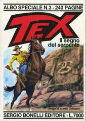 Tex (Albo speciale) -3- Il segno del serpente