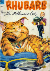 Four Color Comics (Dell - 1942) -466- Rhubarb the Millionaire Cat