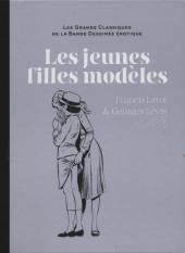 Les grands Classiques de la Bande Dessinée érotique - La Collection -8083- Les jeunes filles modèles