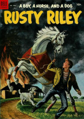 Four Color Comics (Dell - 1942) -486- A Boy, a Horse, and a Dog Rusty Riley
