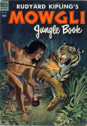 Four Color Comics (Dell - 1942) -487- Rudyard Kipling's Mowgli Jungle Book