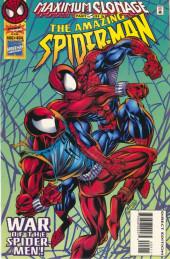 Amazing Spider-Man (The) Vol.1 (Marvel comics - 1963) -404- Maximum Clonage, Part 3 of 6: War of the Spider-Men!