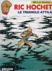 Ric Hochet -45c2002- Le triangle Attila